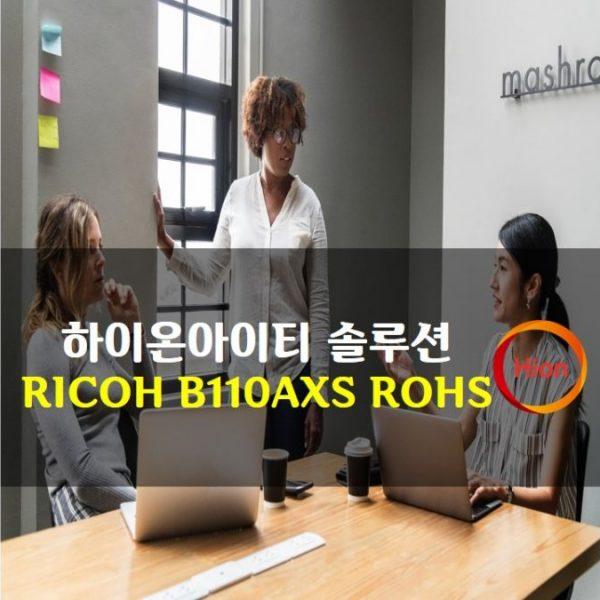 RICOH B110AXS ROHS(Restriction of Hazardous Substances Directive)