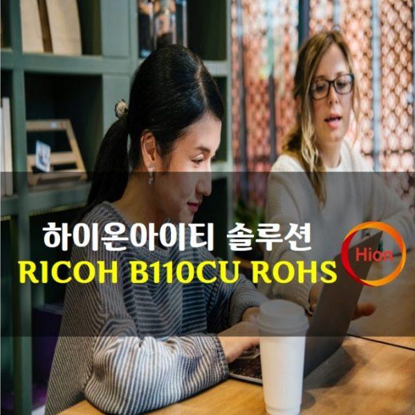 RICOH B110CU ROHS(Restriction of Hazardous Substances Directive)